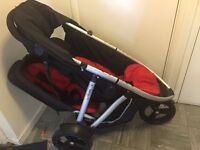 Double Phil & Ted Vibe pushchair