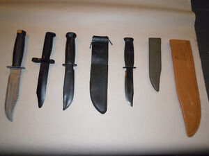 Toy Rubber and Plastic Knives