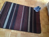 Rugged, Attractive Rug, Good Condition
