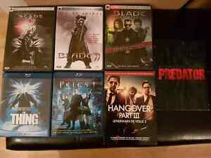 DVD's and Blu-ray for sale--Excellent condition!