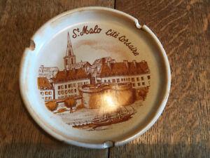 Cendrier St-Malo cité corsaire collectionneur