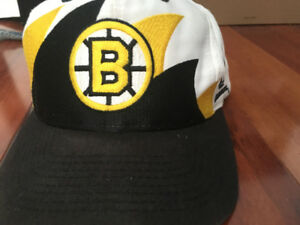 Rare Logo Athletic Sharktooth Boston Bruins strapback
