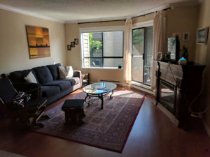 Spacious one bedroom in North Burnaby