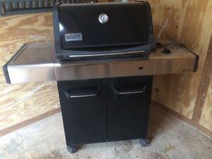 Weber natural gas barbecue