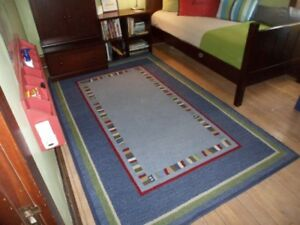 Pottery Barn 100% Wool Rug Hudson