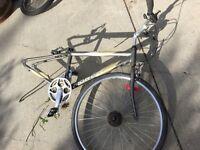 Norco mountain bike. no wheels. Not even one