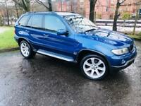 2006 BMW X5 3.0 d BluePerformance Le Mans Blue Sport SUV 5dr Diesel