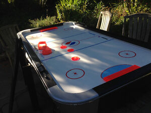 Air hockey set- great shape with all original parts