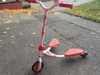 Kids flicker scooter +4