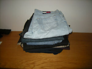 8 pair of Jeans and Trousers not XXL in 40 X 32