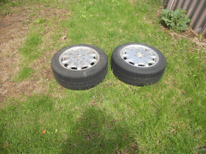 TWO SET OF TIRES WITH MAG MERCEDES