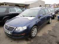 2006 Volkswagen Passat Estate 1.9TDI 105 S Diesel blue Manual