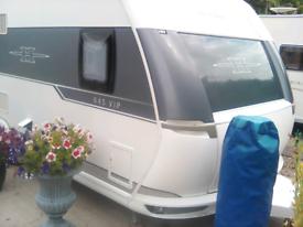 Hobby 645 VIP caravan 2015. 5/6 berth