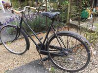Vintage ladies bike