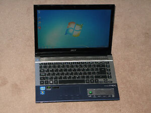 Acer Aspire 4830TG i5 @ 2.50GHz 8GB ram HDMI GT540m 2GB graphics