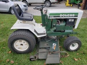 Bolens HT23 with Mower and Snow Blower