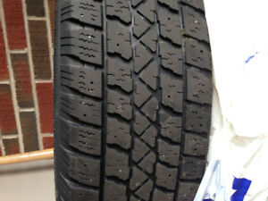 Set of four Arctic Claw winter tires