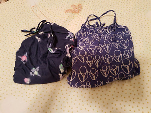 Girl swimsuits, two, size 4-6 baby gap