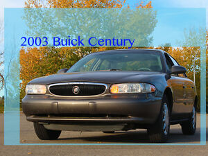 2003 Buick Century Custom Sedan ***LOW KMs***