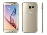 Samsung Galaxy S6 Gold Platinum Boxed For Swap iPhone 6 / 5s