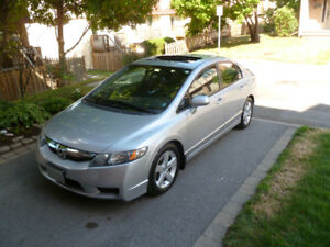 2010 Honda Civic LX Sedan. Loaded with extras.