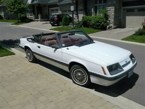 1986 Mustang Convertible One Owner