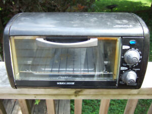 Black and Decker toaster oven- $5