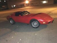 1976 corvette  offer $$$ or Trade