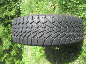 205/60R15 - 4 GOOD YEAR NORDIC Winter TIRES on RIMS