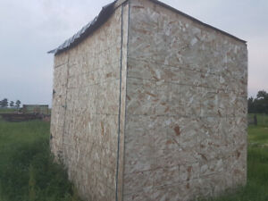 Insulated shed