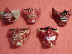 HAND PAINTED HORROR MASKS
