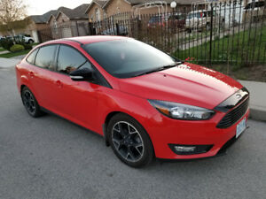 2016 Ford Focus SE Sedan / Auto / AC / Only 30000 Km