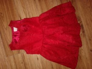 red dress size 3