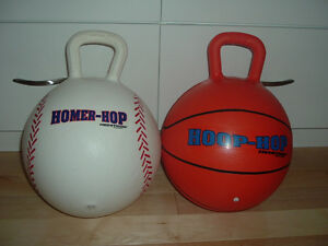 Bounce and Hopper Ball with handle