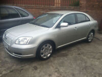 2004/04 Toyota Avensis 1.8 VVT-i T2 5dr h/b P/X To Clear ONLY £995