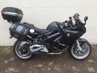 BMW F 800 WITH FULL LUGGAGE