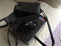 Sony RX100 with box and Sony leather case
