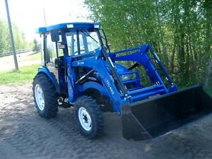 NEW 40 HP - 404 Tractor with cab + loader