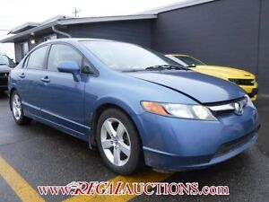 2008 HONDA CIVIC LX 4D SEDAN