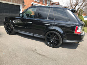 "22"" Range Rover Sport Wheels and Tires"
