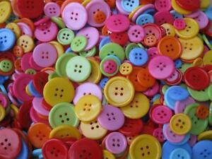 50 Knöpfe Mix bunt 10-22mm Perlen basteln 11112