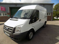 FORD TRANSIT 280 SWB SEMI HIGH ROOF 2.2 FWD 85 BHP IN WHITE