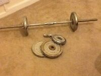 Barbell with 22.5kg