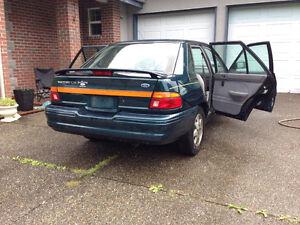 1996 Ford Escort Sedan