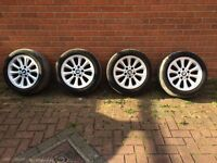 Bmw alloys 5x120 (16s)