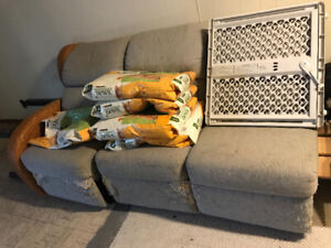 Free patio and living room furniture!