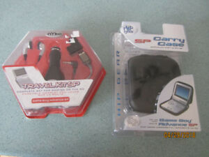 Gameboy Advance SP Carrying Case and Travel Kit