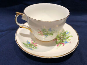 Regency  cup and saucer
