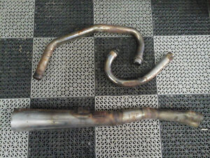 BMW Airhead R90/6 ... 2 into 1 exhaust....or Best Offer