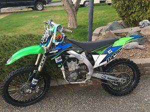 Full rebuilt 450cc kawaski with racing motor & suspension